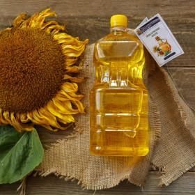 Сыродавленное подсолнечное масло