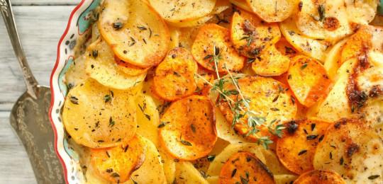 Картофельный граттен