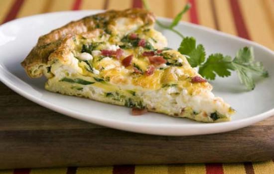 ОМЛЕТ из перепелиных яиц с зеленью и сыром